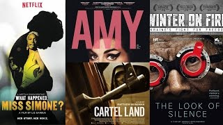 Repeat youtube video 2016 Oscar Nominees for Best Documentaries - Directors Roundtable