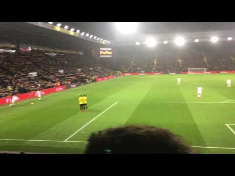 Watford 1-2 Swansea Narsingh 90th minute Goal