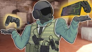 I Used Mouse and Keyboard on Console in Rainbow Six Siege (MnK Gameplay)