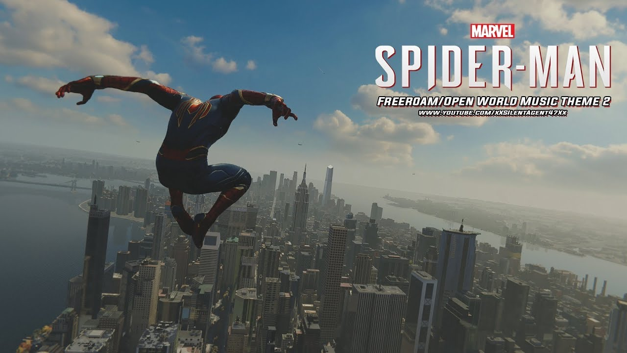 Marvel's Spider-Man (PS4) - Free Roam/Open World Music Theme 2