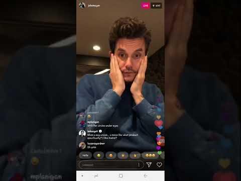 John Mayer Instagram Live | September 17, 2018