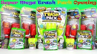 the trash pack 5 series surprise toys blind bags eggs super palooza unboxing multipacks video