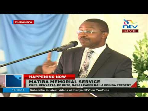 Mwangi wa Iria: Never again should a politician of this country suffer ill health and ill wealth