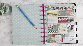 Plan With Me | April Goals Board