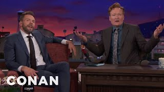Joel McHale Is Bitter About Conan's Travel Shows  - CONAN on TBS thumbnail