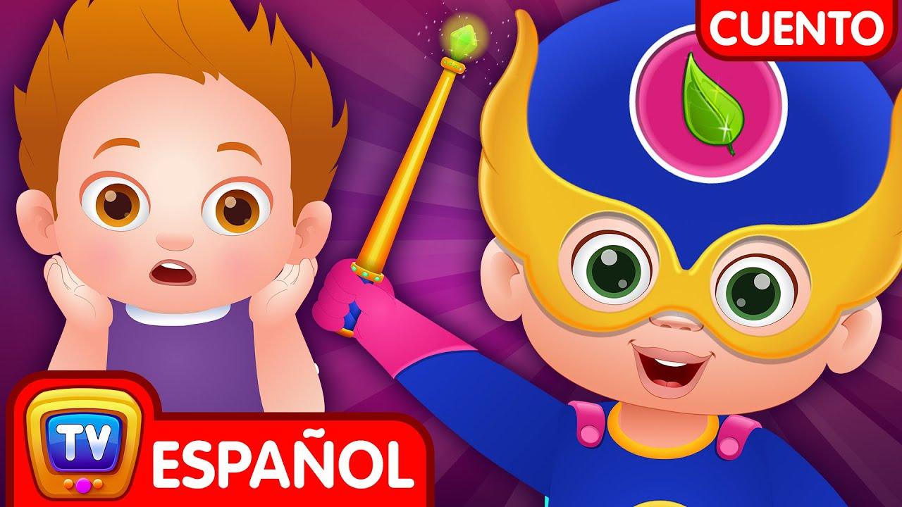 Los Superheroes Mas Limpios (The Cleanliness Superheroes) | ChuChu TV Cuentacuentos