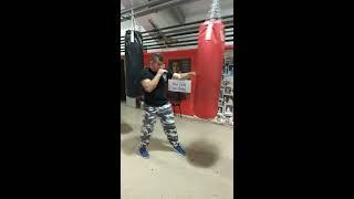 Δεύτερο μάθημα πυγμαχίας με τον Γιώργο Στεφανόπουλο