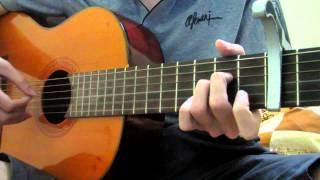 Phía sau ánh mắt buồn - Tong hua guitar cover