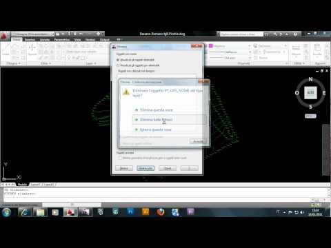 Importazione Di File Di Autocad Dwg In Revit Architecture.