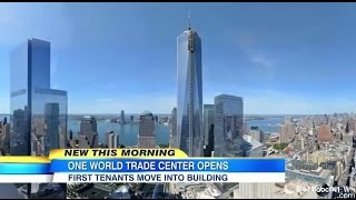 One World Trade Center Observatory opens May 29 2015