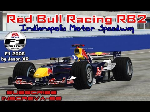 [F1C] Red Bull Racing RB2 @ Indianapolis Motor Speedway with David Coulthard (F1 2006 by JasonXP)