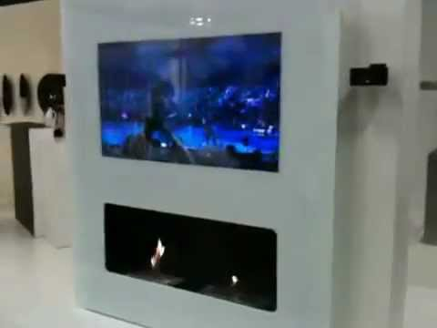 T l miroir tv et miroir high tech 39 ethanol tv 39 youtube - Comment coller un miroir au mur ...