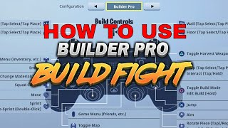 How to Use BUILDER PRO ON PS4 AND XBOX!?!? (Fortnite Tutorial) STAIR/WALL TUTORIAL ON CONSOLE