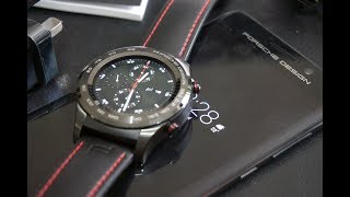 Pairing And Trying Out The Porsche Design Smartwatch With The Porsche Design Mate 9