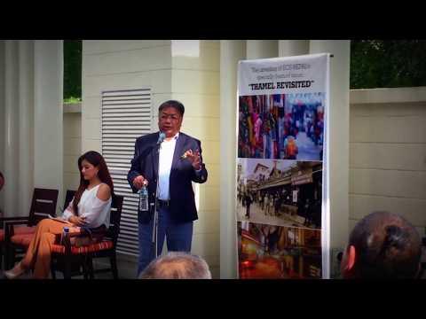 Karna Sakya Speaking about Nepal's Thamel's Tourism Prospects!