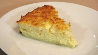Impossible Coconut Custard Pie – Lynn's Recipes