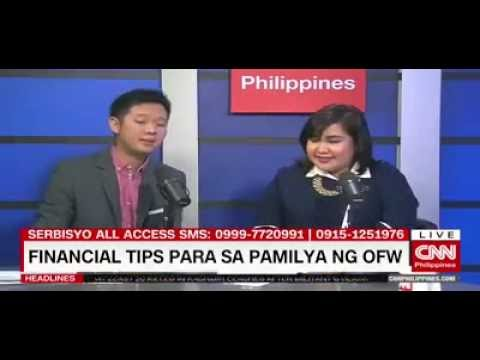 CNN Serbisyo All Access: Financial Tips Para Sa Pamilya ng OFWs from BeamAndGo
