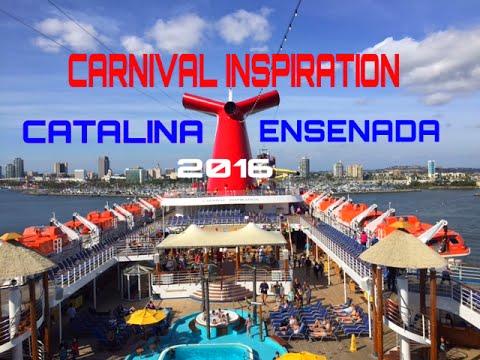 carnival cruise catalina ensenada 2016 youtube