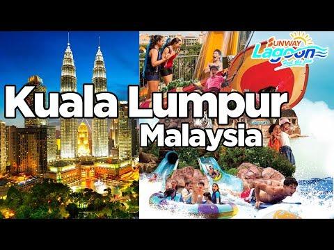 Kuala Lumpur, Malaysia - Sunway Lagoon Resort -  Best Family Adventure compilation