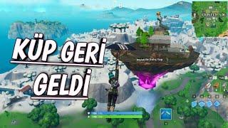 FORTNİTE KÜP GERİ GELDİ - Fortnite Haberleri