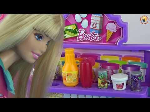 Мультик Барби стала Мамой УЗИ у доктора Видео с куклами и игрушками для девочек