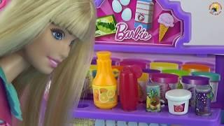 Мультик Барби стала Мамой Видео с куклами и игрушками для девочек