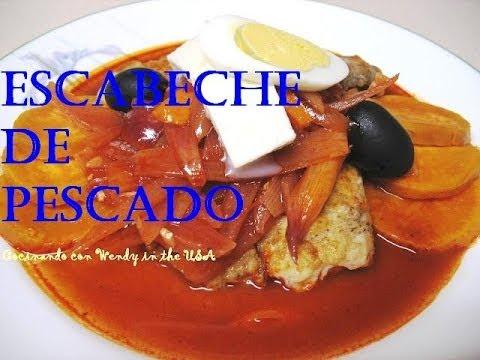 RECETA: ESCABECHE DE PESCADO (EL MEJOR!)