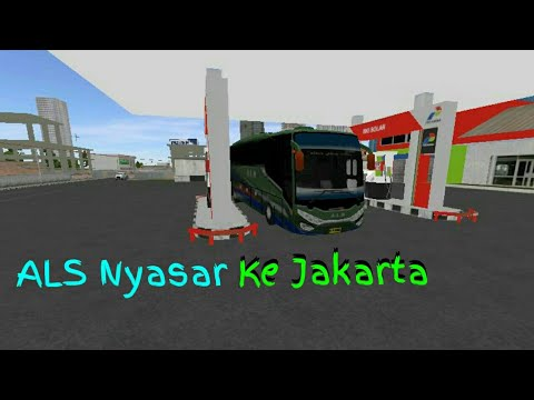 ALS Nyasar Ke Jakarta || BUSSID