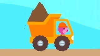 Игры для мальчиков - Sago Mini Грузовики и Экскаваторы