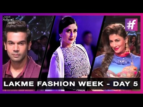 Lakme Fashion Week 2015 Highlights - Day 5   #fame School Of Style