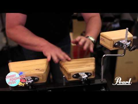 Lea Mullen: Pearl Ashtone Wood Blocks - JOHNNY ROADHOUSE MUSIC Demo Video