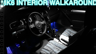2012 Volkswagen MK6 Golf R Interior Walkaround and Modifications