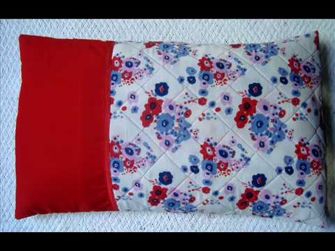 Beautiful Handmade Envelope Pillow Cover Cutting And Stitching DIY Inspiration How To Stitch Pillow Cover In Hindi