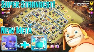 NEW META⭐SUPER STRONGEST BOWLER+CLONE SPELL IN CC⭐ANY AIR & GROUND STRATEGY ( COC )