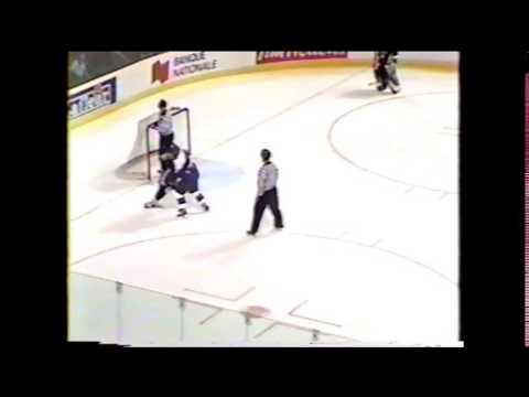 Charles Fontaine vs. Jean-François Roux QMJHL 8/11/02