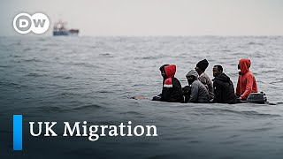 UK deploys navy and air force to stop migrant border crossings | DW News