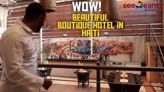 Visiting Allamanda Hotel & Aïoli Restaurant - Petionville Haiti - SeeJeanty