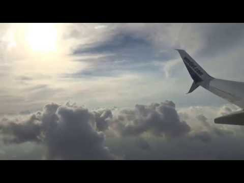 WESTJET FLIGHT BOEING 737-800 FROM CALGARY TO TORONTO ( PART 11 ). AUG 30/2016.