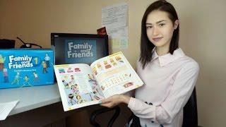Обзор на курс английского языка Family and Friends Oxford