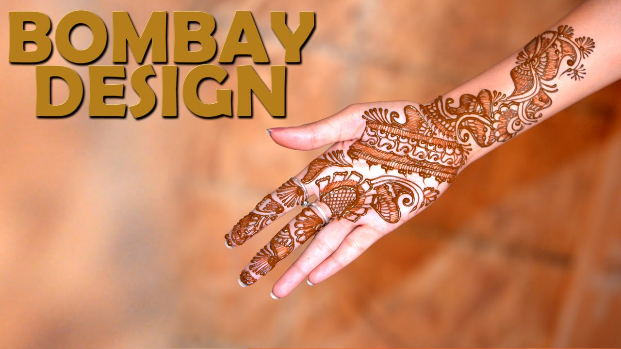 Bridal Mehendi Bombay Design Simple Mehendi Designs