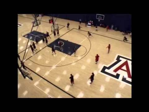 Inside Arizona Basketball Practice