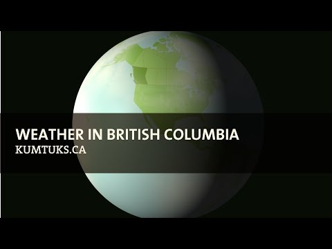 Weather in British Columbia