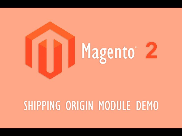 Shipping Origin Demo
