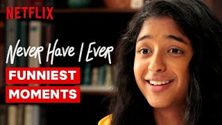 Funniest Moments From Never Have I Ever   Netflix