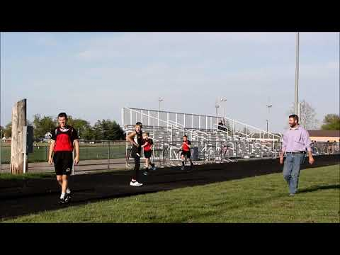 Southern Wells, Bluffton, South Adams Middle School Track 4x1 running