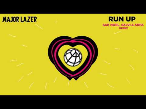 Major Lazer  Run Up feat PARTYNEXTDOOR & Nicki Minaj Sak Noel, Salvi & Arpa Remix