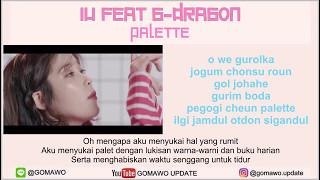 Gambar cover LIRIK IU feat. G-DRAGON - PALETTE by GOMAWO [Indo Sub]