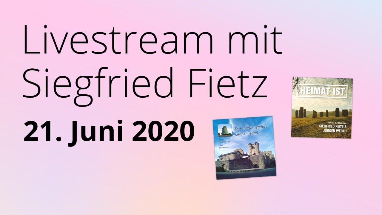 Online-Konzert am 21.06.2020