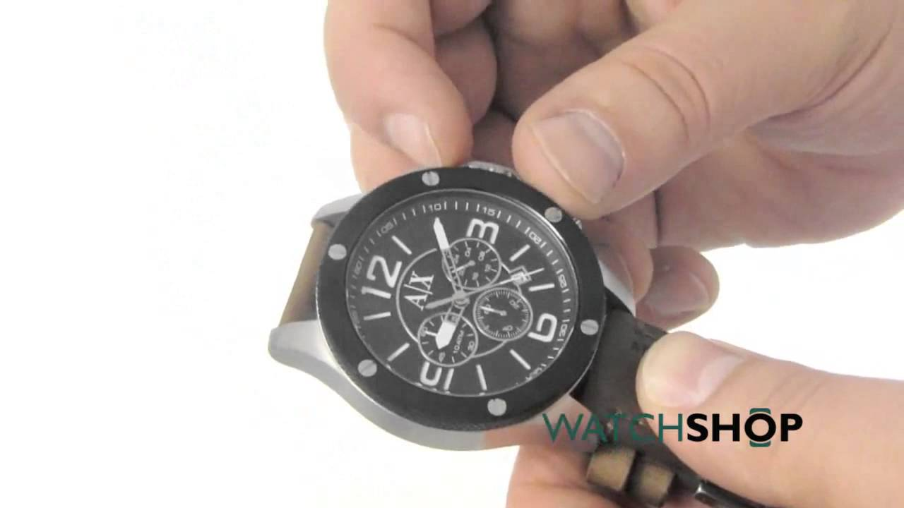 Relogio Armani Exchange AX1509 Chronograph - YouTube 0d1208ef3d