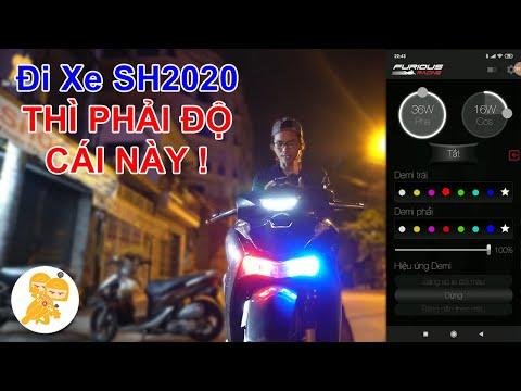 Độ Mạch Tăng Sáng BẢN ĐẦU TIÊN TẠI VIỆT NAM Cho Xe Honda SH2020  - Xe Ôm Shop